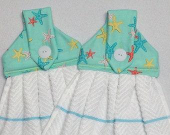 Starfish Hanging Kitchen Towels
