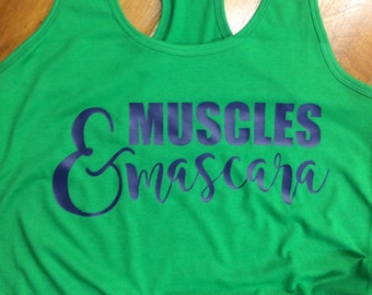 Muscles & Mascara Workout Tank