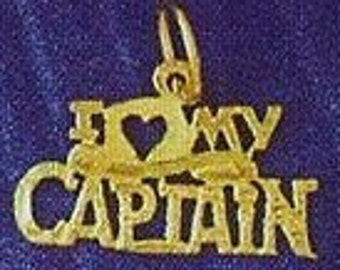 I love My Captain Charm (JC-041)