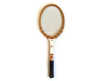 Vintage Wilson Tennis Racket - Antique Tennis Racquet