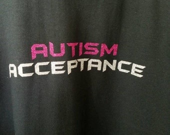 Autism Awareness T-Shirt - Adult - AUTISM ACCEPTANCE
