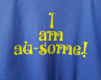 Autism Awareness T-Shirt - Youth - I am au-some!