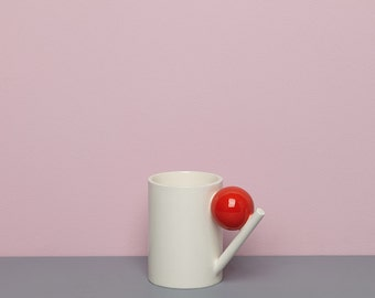 Geometry mug / red