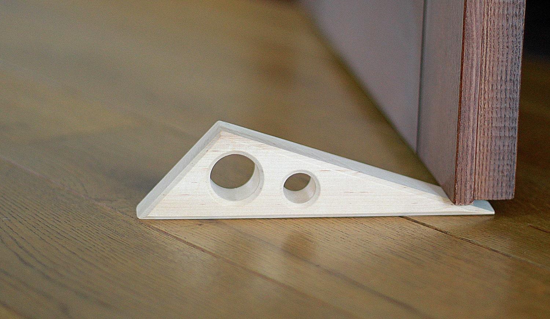 Door stopper wooden doorstop eco friendly door stop home decor Decorative door stoppers