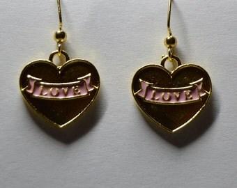 Heart Love Earrings