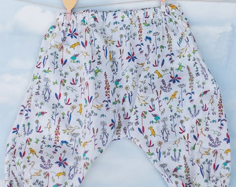 Baby Bloomers Dribblebuster 3 - 6 months Liberty print trousers cute baby clothes baby pants liberty tana lawn diaper covers