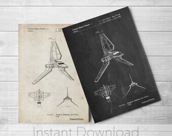 Star Wars Printables, Empire Strikes Back, Starwars Art, Movie Wall, Star Wars Ships, Star Wars Gift, PP0449