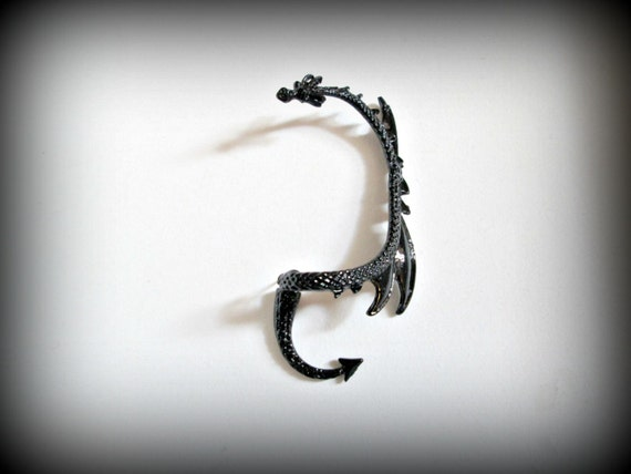 Dragon ear cuffear wrap game of thrones inspired by presents4u - Game of thrones dragon ear cuff ...