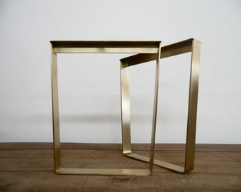 16 Flat Brass Table Legs Brass Table Legs Height