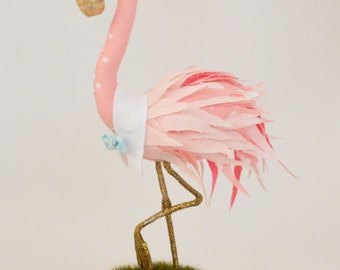 Flamingo Cake Topper - Pink Flamingo Cake Topper - Pink Flamingo Bird