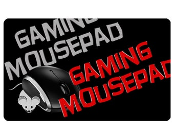 Custom Mousepad, EX-Large Gaming Photo Custom Personalized Mouse Pad -  Free Standard Shipping