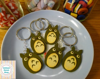 Littlest Sweet Shop matcha Green Tea Totoro cookie charm key ring. Extremely cute and kawaii