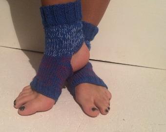hand knit multicolot Yoga Socks Pilates Socks Socks Dance Socks Slipper Socks Women Socks  Colorful Hipster Socks Yoga active wear