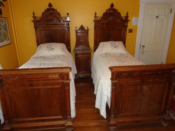 Antique Victorian 7 PIECE Bedroom Set By JudesHandtiques On Etsy