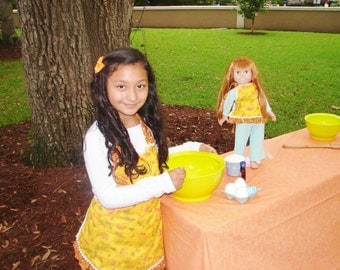 Dolly and Me Fall Apron Set