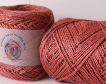 100% Ramie Yarn Col: 05 Sunset