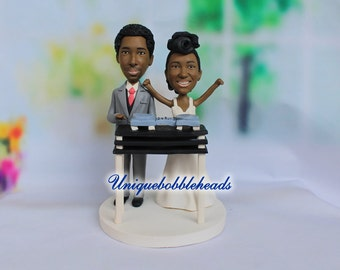 DJ wedding cake topper, DJ table, turn table, DJ, get high, funny wedding cake topper, for wedding