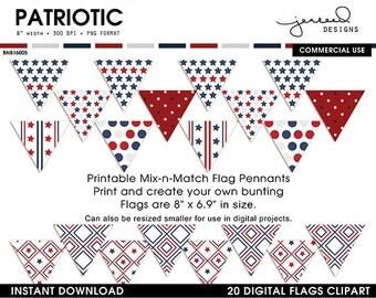 Printable Patriotic Borders