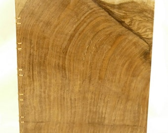 Claro Walnut Book Cover withCoptic Binding.   (306)
