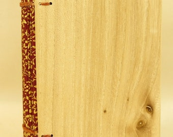 Coptic Bound Book with Elm Covers.   (307)