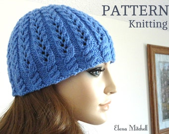 Knitting PATTERN Girls Beanie Women Hat Children Hat Knit Womens Hats Toddler Beanie Knitted Toddler Hat Girls Hats Knit Pattern