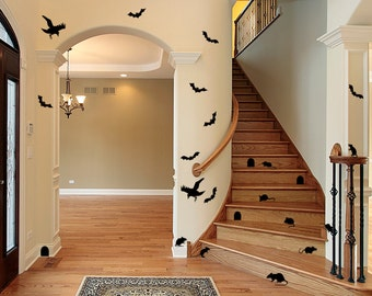 Halloween Scene Decals