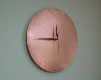 ATTENTION   free shipping worldwide (Only today) Wall clock on natural copper