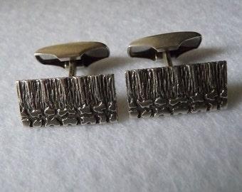 Vintage Cufflinks. Sterling. Finland.