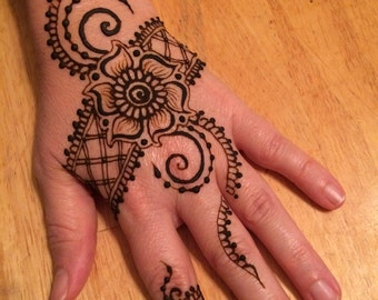 30 Minute Henna Gift Certificate