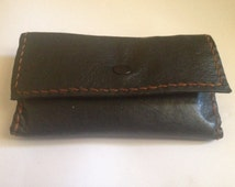 Leather tabacco pouch