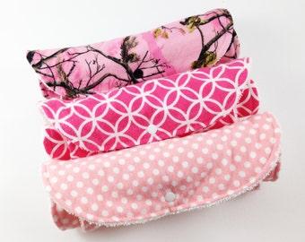 Girl Burp Cloths - Baby Girl Burp Cloth - Burp Cloths for Girls - Girl Burp Cloth Set - Burp Cloth Set Girl - Burp Cloths Girl