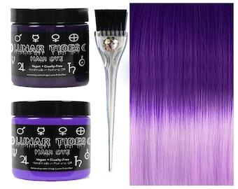 DIY Ombre Violet Purple Hair Dye KIt