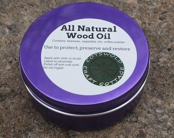 Natural Wood Oil - beeswax polish