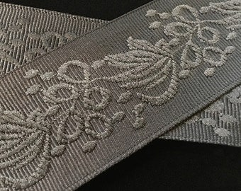 "483 Jacquard trim ""Skye"" 1-1/2"" (38mm)"