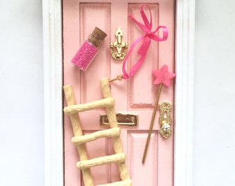Fairy Door, Tooth Fairy Door, Magical Fairy Door, Fairy Garden, Pink, Fairy Door Kit, Ann Arbor Door