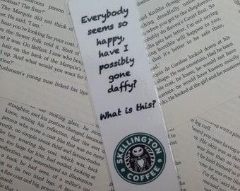 The Nightmare Before Christmas Jack Skellington Bookmark