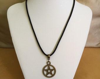 """Necklace """"Pentagram star"""""""