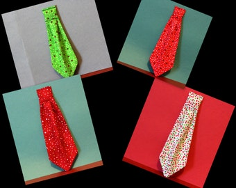 Christmas neckties for dogs in a variety of holiday colors