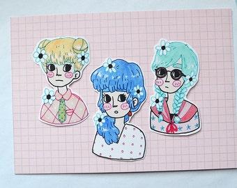 Girlfriends Sticker Set #2