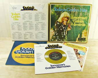Vintage Boxed Album Set Today's Golden Hits Readers Digest Album Set 1960's, 1970's Music Boxed Record Set Ray Conniff Singers Andy Williams