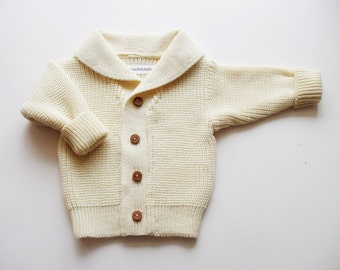 Babies/Children's/Toddlers Merino wool Shawl collar Cardigan/sweater/coat cardigan