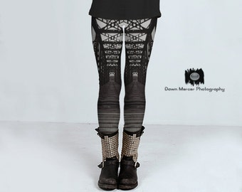 Unique Leggings Womens Premium Leggings Tight Yoga Pants Workout leggings Tights Printed leggings Tight Leggings Train Bridge Print