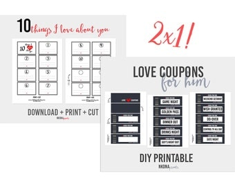 Coupon diy etsy for Coupons for my boyfriend