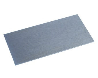 """Proops Wood Cabinet Scraper Carbon Steel 6"""" x 3"""" Rectangle. UK Made. (W3344) Free UK Postage"""