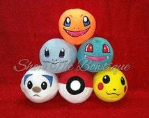 Evolving Creatures 4 Panel Stuffed Balls
