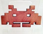 Atari laser wood cut