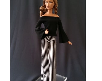 Dolls tops + pants for Muse barbie, Barbie, FR,Fashion Royalty doll- No.041