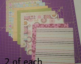 Lot of KI memories 12x12 scrapbook paper