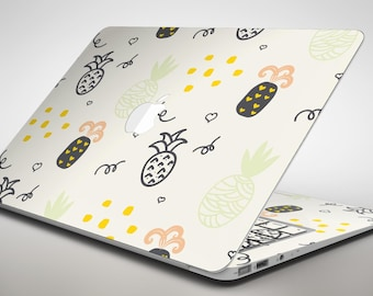 Tropical Summer Love v7 - Apple MacBook Air or Pro Skin Decal Kit (All Versions Available)