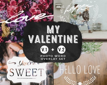 My Valentine V1 + V2 Bundled Set, INSTANT DOWNLOAD